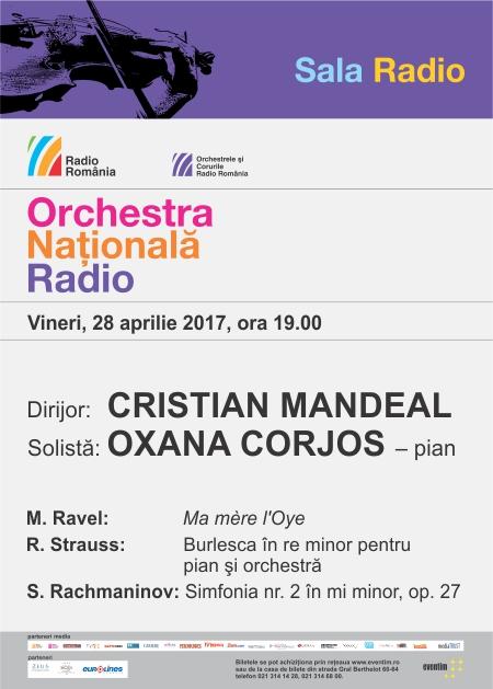 Afis Concert 28 aprilie