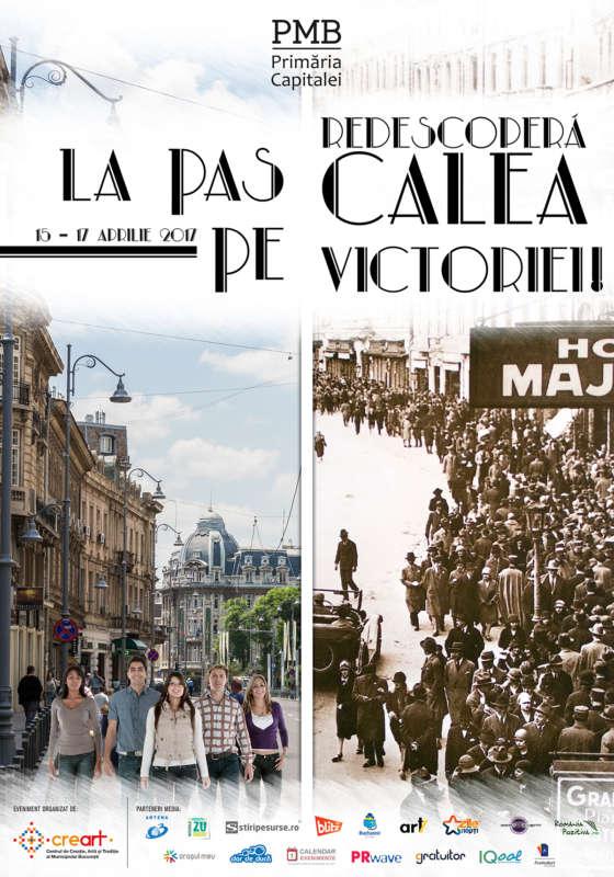 Afis La Pas pe Calea Victoriei