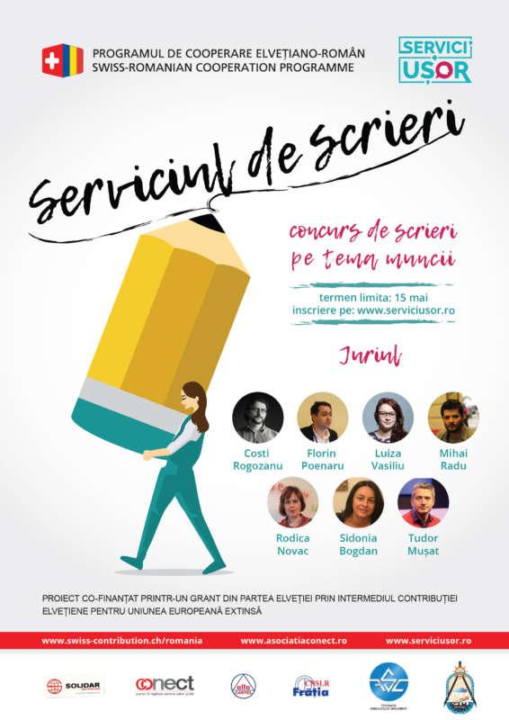 Afis Serviciul de scrieri - JURIU