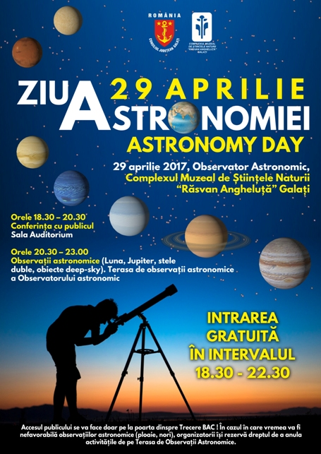 Ziua Astronomiei 2017
