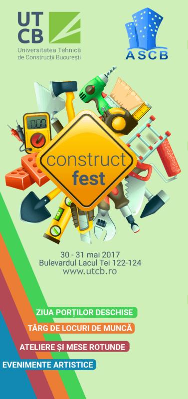 Afis CONSTRUCT FEST 2017