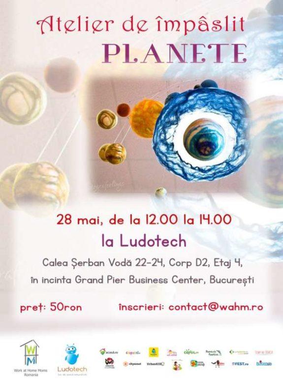 Atelier de impaslit planete Bucuresti