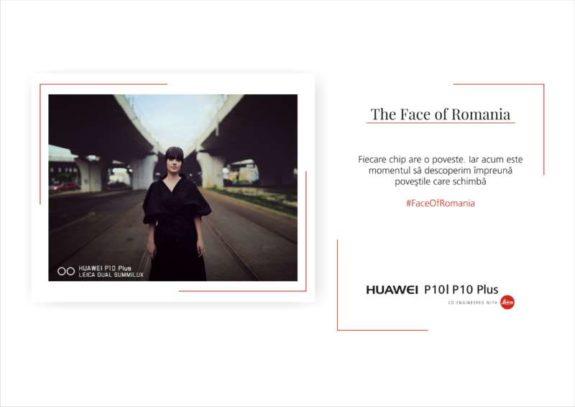 Vizual Campanie The Face of Romania_Huawei