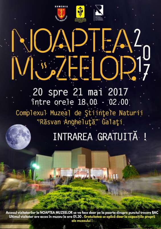 afis Noaptea Muzeelor 2017 A3