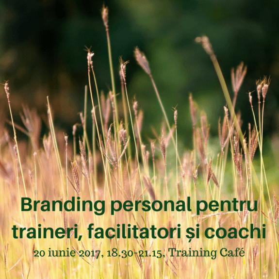 20 iunie 2017, 18.30-21.15, Training Café