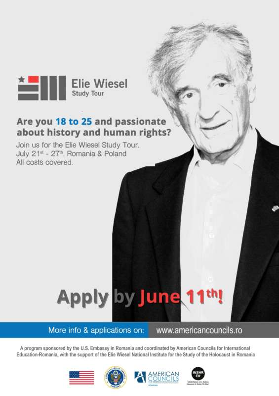 Elie Wiesel poster