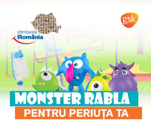 Monster Rabla pentru periuta ta