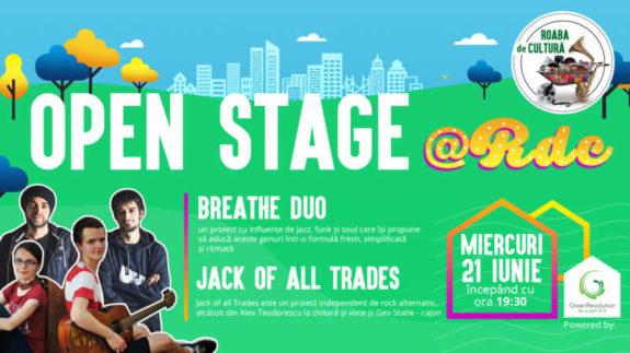 Open Stage Event 21 iunie