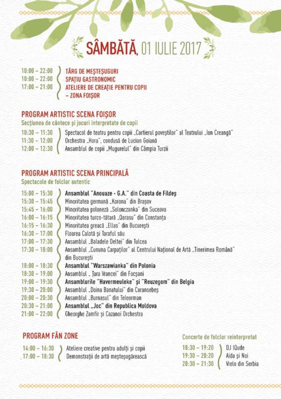 Program ziua 2
