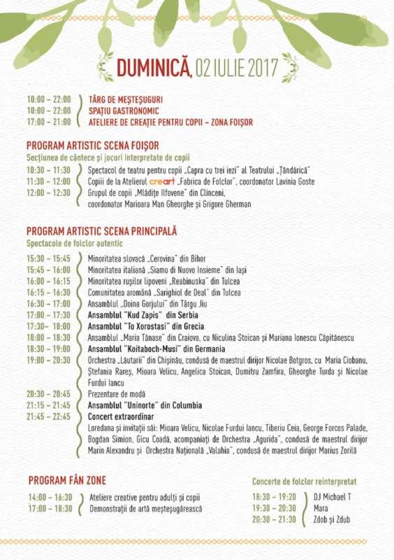 Program ziua 3