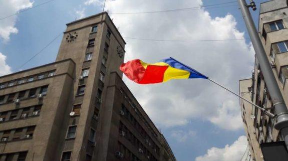 steag tricolor romaniapozitiva 2017 calea victoriei bucuresti