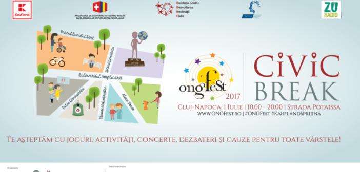 Clujenii pleacă în ONGFest Civic Break!