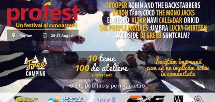 ProFest – un festival al cunoașterii, eveniment civic de3 zile si 3 nopți.Vlad Voiculescu și judecătorul Cristi Dănileț, au confirmat deja prezența