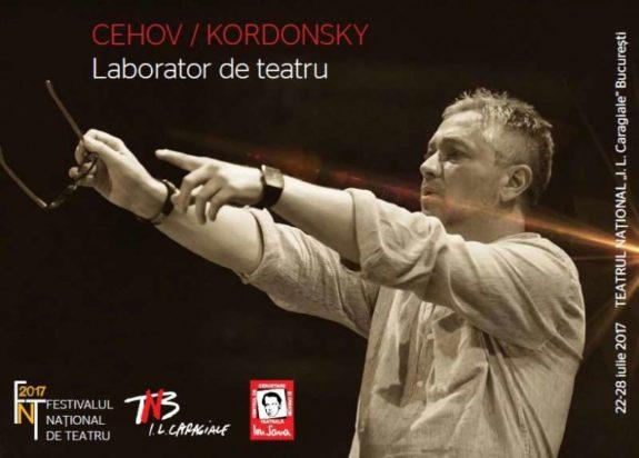 Afis Cehov_Kordonsky_Laborator de teatru