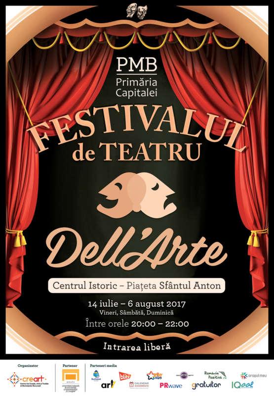 Afis Festivalul Dell Arte