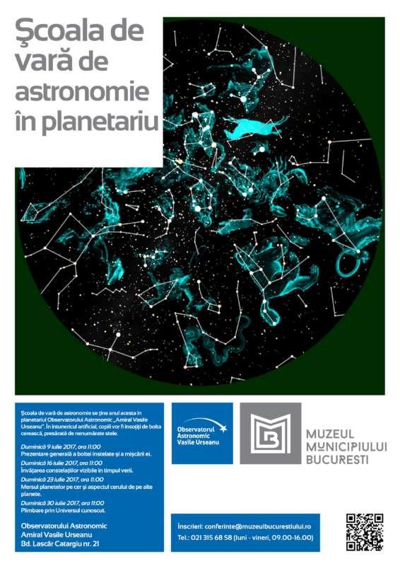 Afis_Scoala de vara de astronomie 2017