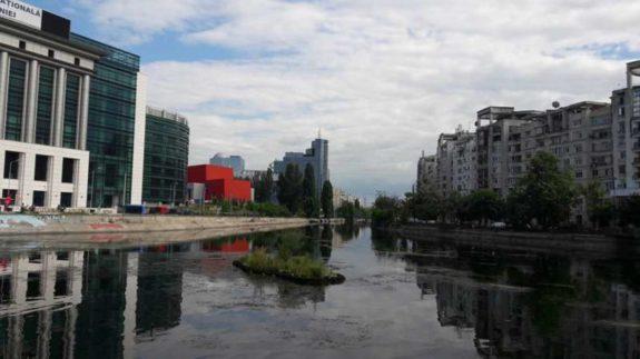 Canoe pe Dambovita smart river romaniapozitiva 2017 poza 11