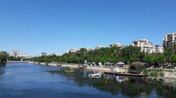 Canoe pe Dambovita smart river romaniapozitiva 2017 poza 3