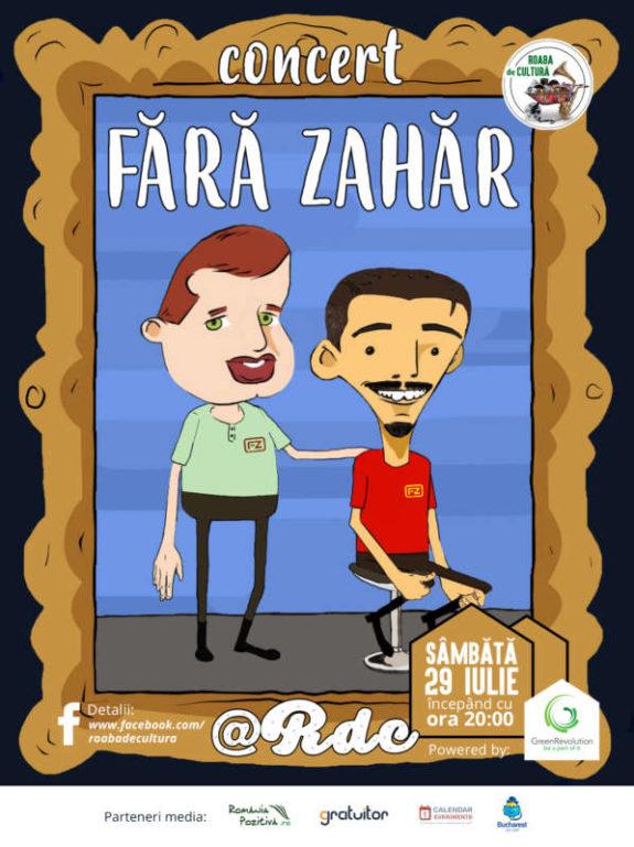 Concert Fara Zahar 29 iulie 2