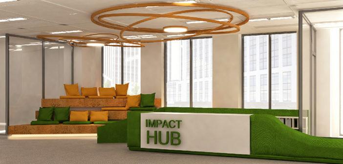 FOTO: Impact Hub Bucharest se mută într-un spațiu de 1600 mp2, în Timpuri Noi Square