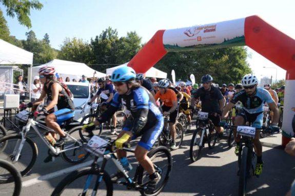 261 de concurenti la startul probelor de MTB Maratonul Olteniei editia a 5 a