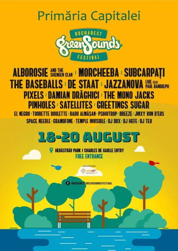 Afis GreenSounds 2017
