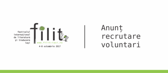 Anunt recrutari voluntari FILIT 2017