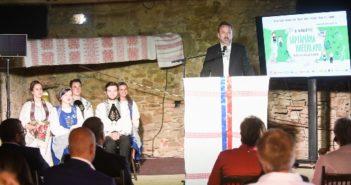 Haferland - Ceremonia din Criț_Dl. Bernd Fabritius