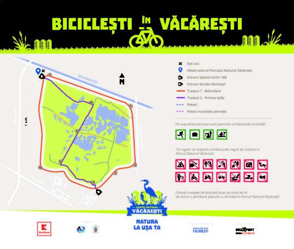 Harta_Biciclesti in Vacaresti