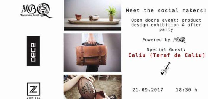 MEET THE SOCIAL MAKERS! Brandurile sociale Meșteshukar ButiQ, Zuriell și DECE își prezintă noile colecții de produse