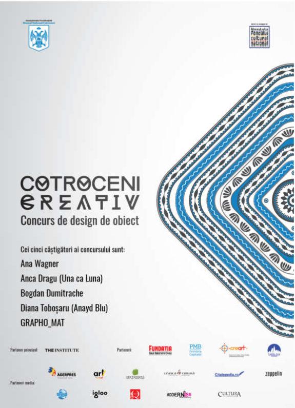 Afis Cotroceni creativ - castigatorii concursului