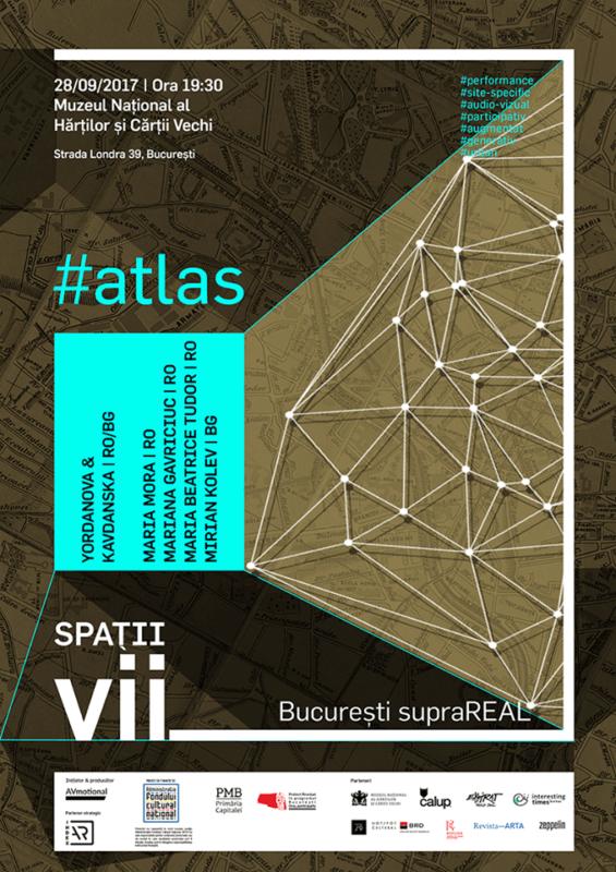 Afis Spatii Vii atlas 28 septembrie