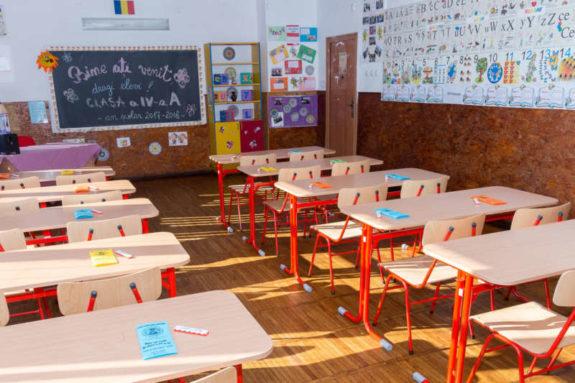 11 septembrie 2017 prima zi de scoala la Bontida | © FOTO: Mircea Rosca / www.ActionFoto.ro