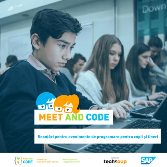 Meet and Code_Asociatia Techsoup_vizual general