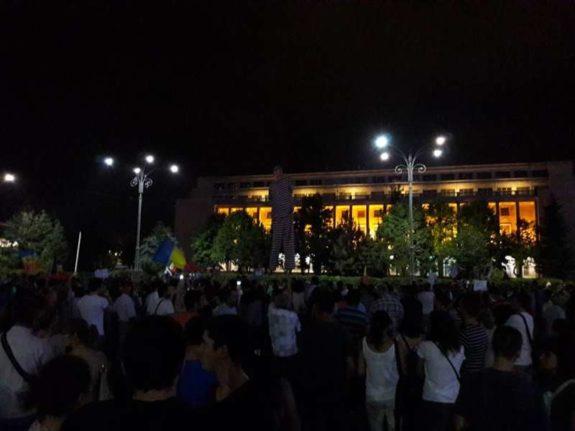 piata victoriei protest 2