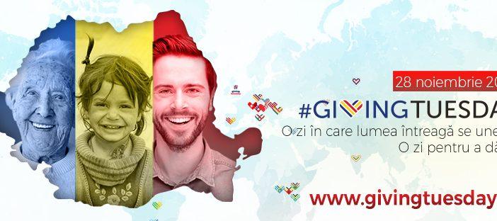 Ziua mondială a faptelor bune! Giving Tuesday – o zi pentru a dărui se sărbătorește pe 28 noiembrie și în Romania