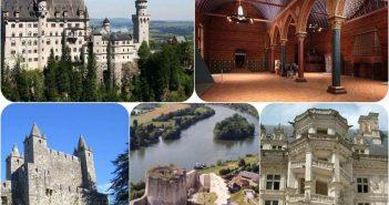 castele europa istorie