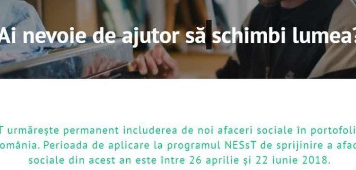 NESsT și UniCredit acordă granturi de 50.000 euro pentru dezvoltarea afacerilor sociale din România