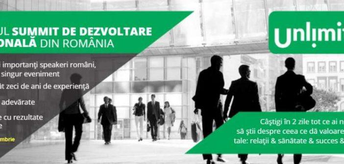 UnlimitU – Primul summit de dezvoltare personală din România