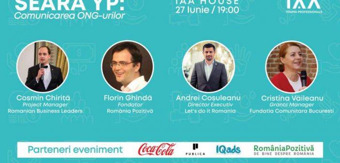 Seara YP: Comunicarea în sectorul ONG-între provocări și soluții