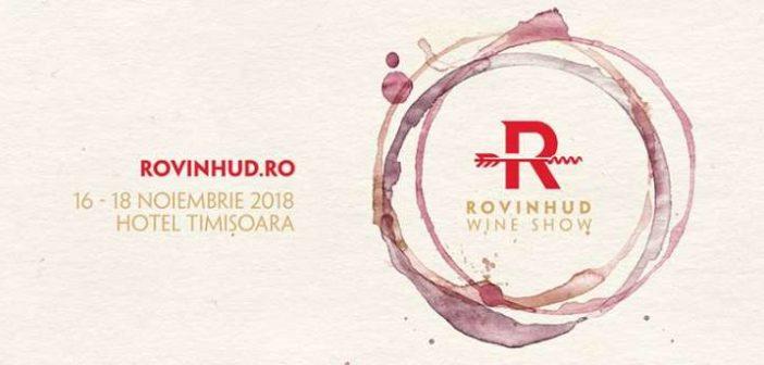 ROVINHUD Wine Show Timișoara – Vin, Calitate și Caritate