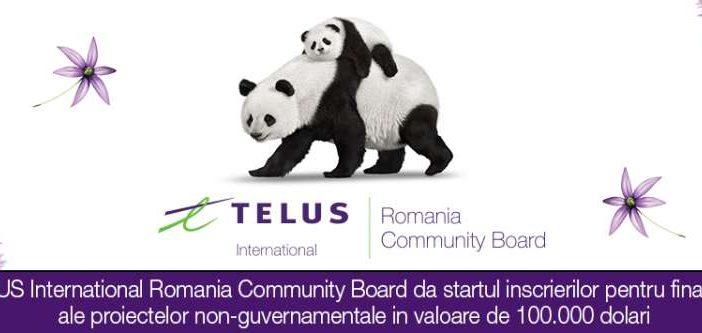 Fundatia TELUS International Romania asteapta aplicantii pentru noi granturi de 100 000 de dolari. Prima sesiune de granturi din 2019 este deschisa aplicantilor pana pe data de 22 februarie 2019