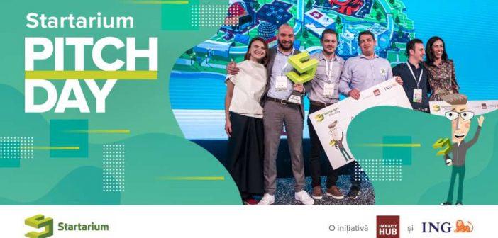 Competiția de pitching cu premii totale în valoare de 120.000 de euro! S-au deschis înscrierile la cea mai mare competiție pentru startup-uri, Startarium PitchDay 2019! 🎉