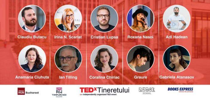 TEDx Tineretului prezintă 10 idei care schimbă viitorul!