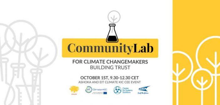 Community Lab pentru inovatori sociali în domeniul climei și mediului din Europa Centrală și de Est va fi lansat pe 1 Octombrie