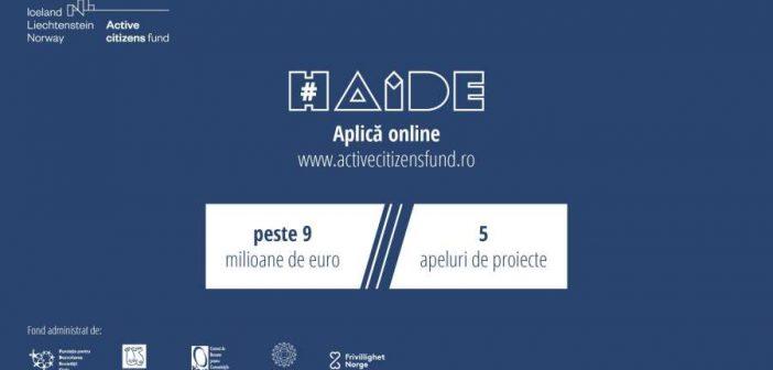 Finanțare de peste 9 milioane euro pentru ONG-uri prin Active Citizens Fund România