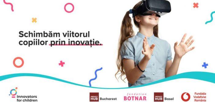 Am lansat o nouă ediție a programului Innovators for Children. 50.000 de euro pentru inovații tehnologice care îmbunătățesc viețile copiilor
