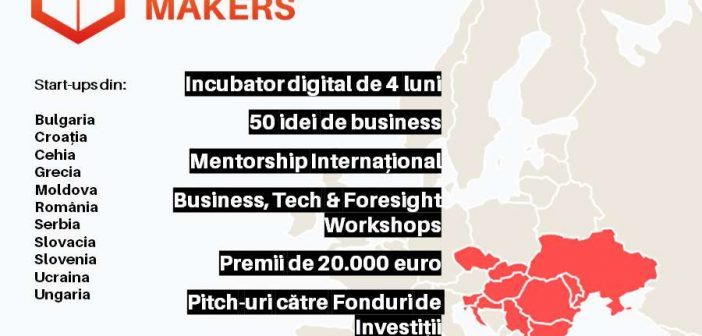 Future Makers: 50 de start-ups, 11 țări & 20.000 de euro premii