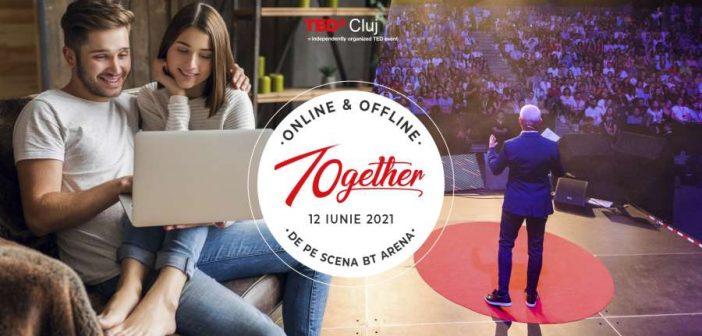 Primul eveniment TEDx hibrid din România are loc pe 12 iunie, la Cluj Napoca