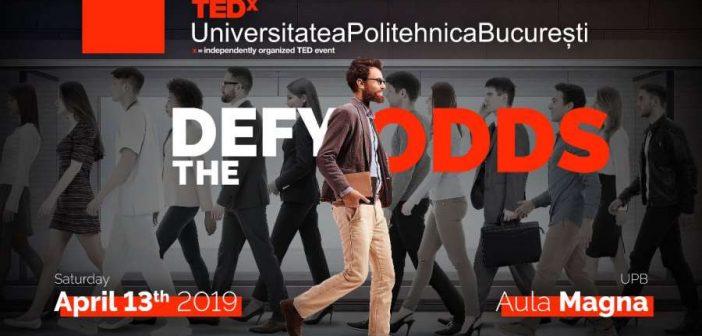"""TEDxUniversitateaPolitehnicaBucurești – """"Defy The Odds"""""""